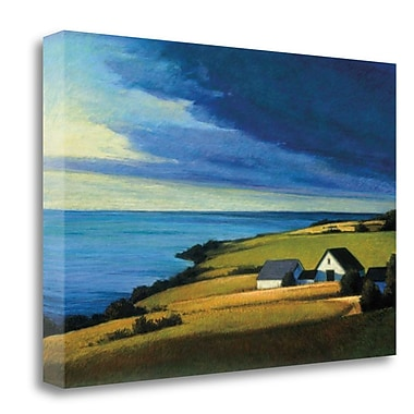 Tangletown Fine Art 'Passing Storm Prince Edward Island' Graphic Art Print on Wrapped Canvas