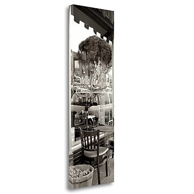 Tangletown Fine Art 'San Francisco Cafe Pano - 3' Photographic Print on Wrapped Canvas
