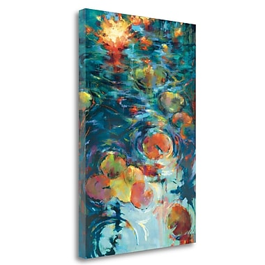 Tangletown Fine Art 'Dancing on Water' Print on Wrapped Canvas; 24'' H x 17'' W