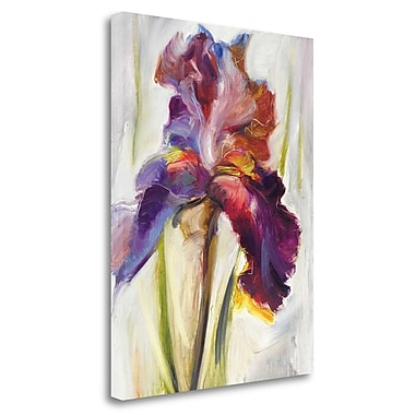 Tangletown Fine Art 'Colors of Iris I' Print on Wrapped Canvas; 23'' H x 18'' W