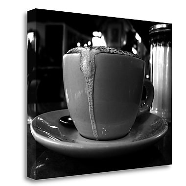 Tangletown Fine Art 'The Perfect Cup' Photographic Print on Wrapped Canvas; 25'' H x 32'' W
