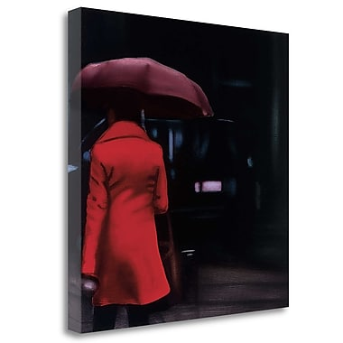 Tangletown Fine Art 'Lady' Print on Wrapped Canvas; 35'' H x 35'' W