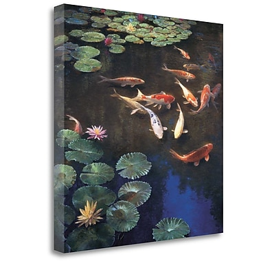 Tangletown Fine Art 'Inclinations' Graphic Art Print on Wrapped Canvas; 25'' H x 25'' W