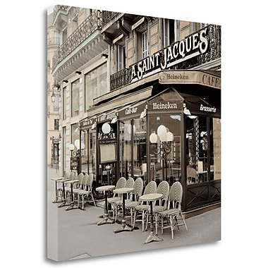 Tangletown Fine Art 'St Jacques Paris' Photographic Print on Wrapped Canvas; 30'' H x 30'' W