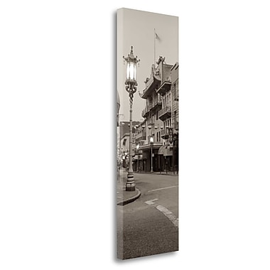 Tangletown Fine Art 'China Town Pano - 2' Photographic Print on Wrapped Canvas; 39'' H x 13'' W