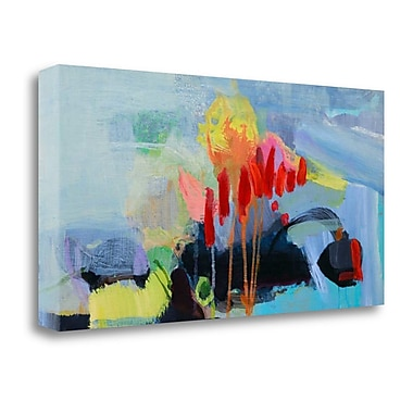 Tangletown Fine Art 'Fluttering My Way Through 3' Print on Wrapped Canvas; 20'' H x 40'' W