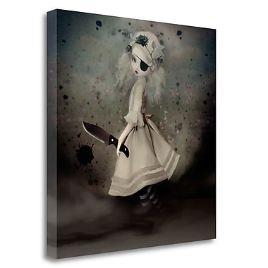 Tangletown Fine Art 'Broken Dawn' Graphic Art Print on Wrapped Canvas; 30'' H x 30'' W