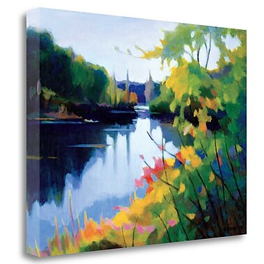 Tangletown Fine Art 'Morning Light' Print on Wrapped Canvas; 25'' H x 33'' W
