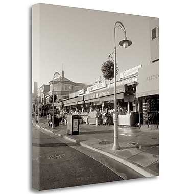 Tangletown Fine Art 'Fishermans Wharf - 2' Photographic Print on Wrapped Canvas; 35'' H x 35'' W