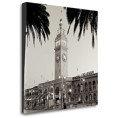 Tangletown Fine Art 'Ferry Building - 3' Photographic Print on Wrapped Canvas; 35'' H x 35'' W