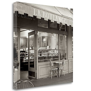 Tangletown Fine Art 'La Boulange - 1' Photographic Print on Wrapped Canvas; 30'' H x 30'' W