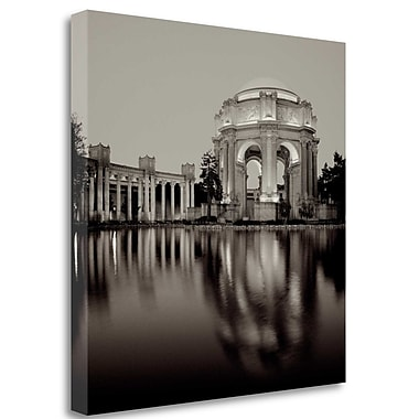 Tangletown Fine Art 'Palace of Fine Arts - 3' Photographic Print on Wrapped Canvas; 35'' H x 35'' W