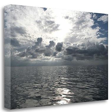 Tangletown Fine Art 'Atlantic Sunrise' Photographic Print on Wrapped Canvas; 21'' H x 32'' W