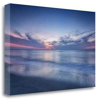 Tangletown Fine Art 'Atlantic Sunrise No. 7' Graphic Art Print on Wrapped Canvas; 20'' H x 31'' W