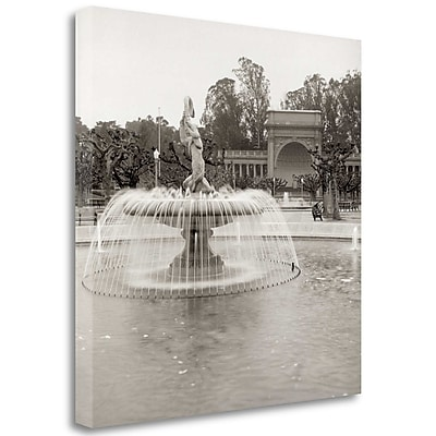 Tangletown Fine Art 'Golden Gate Park - 6' Photographic Print on Wrapped Canvas; 35'' H x 35'' W