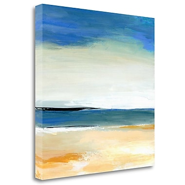 Tangletown Fine Art 'Seascape 2' Print on Wrapped Canvas; 26'' H x 26'' W