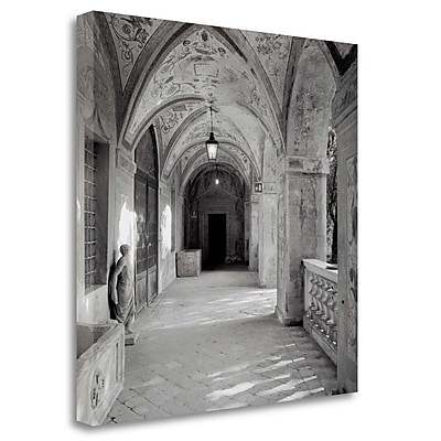 Tangletown Fine Art 'Padova - 1' Photographic Print on Wrapped Canvas; 25'' H x 25'' W
