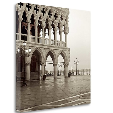 Tangletown Fine Art 'Venezia - 13' Photographic Print on Wrapped Canvas; 30'' H x 30'' W