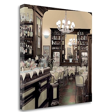 Tangletown Fine Art 'Caffe Frienze - 1' Photographic Print on Wrapped Canvas; 30'' H x 30'' W