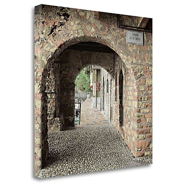 Tangletown Fine Art 'Lakeside Portal' Photographic Print on Wrapped Canvas; 35'' H x 35'' W
