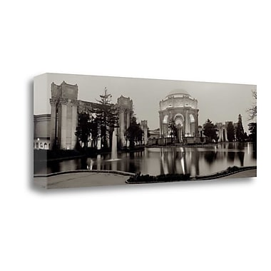 Tangletown Fine Art 'Palace of Fine Arts Pano - 4' Photographic Print on Wrapped Canvas