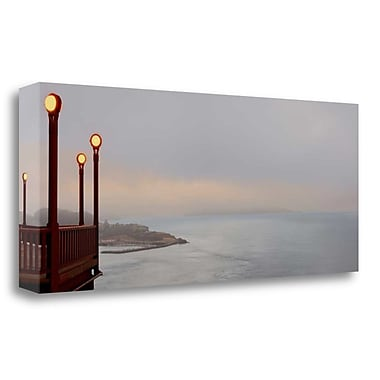 Tangletown Fine Art 'Golden Gate Bridge Pano - 129' Photographic Print on Wrapped Canvas