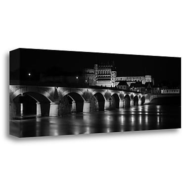 Tangletown Fine Art 'Amboise Chateau' Photographic Print on Wrapped Canvas; 16'' H x 48'' W