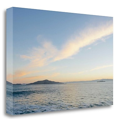 Tangletown Fine Art 'SF Bay - 1' Photographic Print on Wrapped Canvas; 15'' H x 23'' W