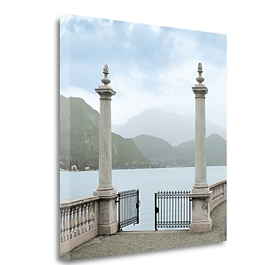 Tangletown Fine Art 'Harbor Garden Gates - 2' Photographic Print on Wrapped Canvas; 35'' H x 35'' W