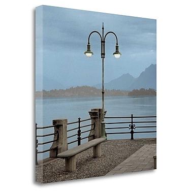 Tangletown Fine Art 'Lake Vista - 5' Photographic Print on Wrapped Canvas; 35'' H x 35'' W