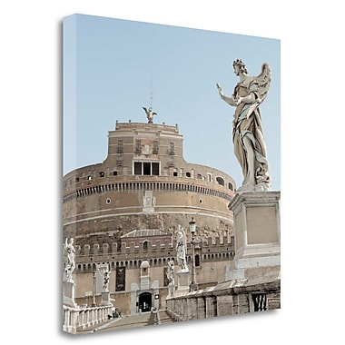 Tangletown Fine Art 'Castel SantAngelo - 1' Photographic Print on Wrapped Canvas; 30'' H x 30'' W