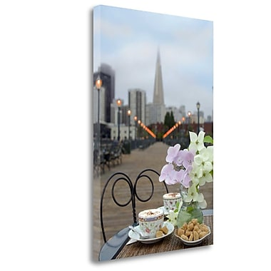 Tangletown Fine Art 'Dream Cafe Broadway Pier - 22' Photographic Print on Wrapped Canvas