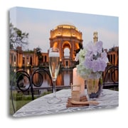 Tangletown Fine Art 'Dream Cafe Palace of Fine Art - 23' Photographic Print on Wrapped Canvas