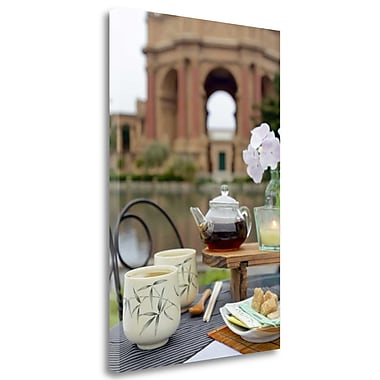 Tangletown Fine Art 'Dream Cafe Palace of Fine Art - 28' Photographic Print on Wrapped Canvas