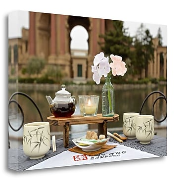 Tangletown Fine Art 'Dream Cafe Palace of Fine Art - 27' Photographic Print on Wrapped Canvas