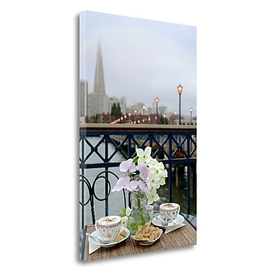 Tangletown Fine Art 'Dream Cafe Broadway Pier - 21' Photographic Print on Wrapped Canvas