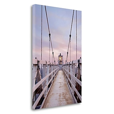 Tangletown Fine Art 'Point Bonita - 3' Photographic Print on Wrapped Canvas; 28'' H x 19'' W