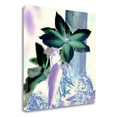 Tangletown Fine Art 'Floral Color - 10' Graphic Art Print on Wrapped Canvas; 30'' H x 30'' W