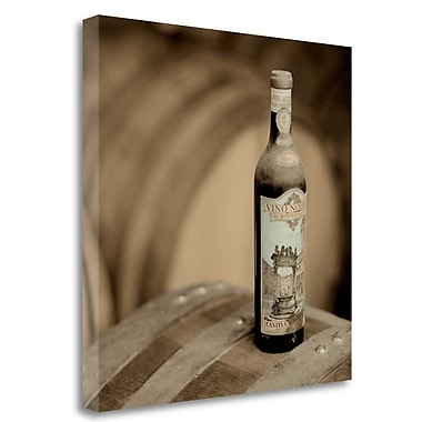Tangletown Fine Art 'Wine - 4' Photographic Print on Wrapped Canvas; 20'' H x 20'' W