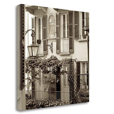 Tangletown Fine Art 'Bellagio - 1' Photographic Print on Wrapped Canvas; 20'' H x 20'' W