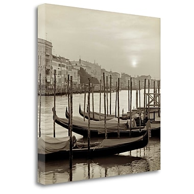 Tangletown Fine Art 'Venezia - 11' Photographic Print on Wrapped Canvas; 30'' H x 30'' W