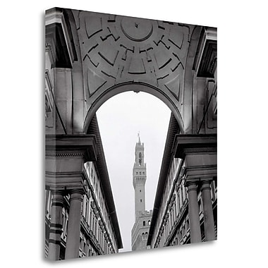 Tangletown Fine Art 'Firenze - 2' Photographic Print on Wrapped Canvas; 30'' H x 30'' W