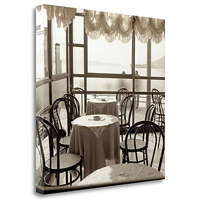 Tangletown Fine Art 'Piedmont Caffe - 1' Photographic Print on Wrapped Canvas; 30'' H x 30'' W