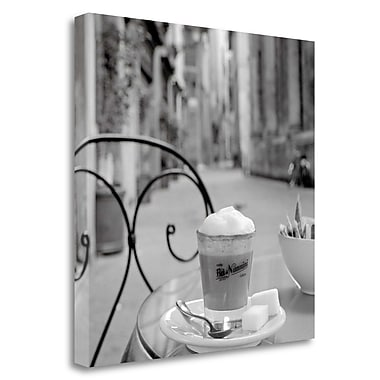 Tangletown Fine Art 'Tuscany Caffe - 20' Photographic Print on Wrapped Canvas; 30'' H x 30'' W