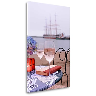 Tangletown Fine Art 'Dream Cafe Hyde St Pier - 31' Photographic Print on Wrapped Canvas