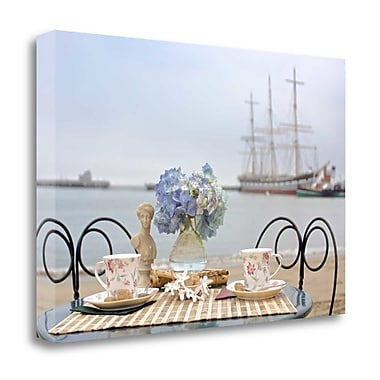Tangletown Fine Art 'Dream Cafe Hyde St Pier - 33' Photographic Print on Wrapped Canvas