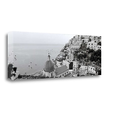 Tangletown Fine Art 'Positano - 1' Photographic Print on Wrapped Canvas; 13'' H x 39'' W