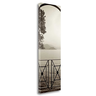 Tangletown Fine Art 'Lombardy - 6' Photographic Print on Wrapped Canvas; 48'' H x 16'' W