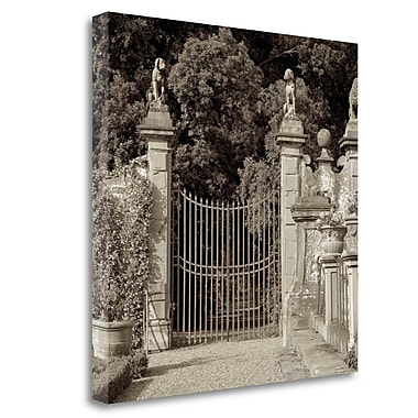 Tangletown Fine Art 'Tuscany - 11' Photographic Print on Wrapped Canvas; 25'' H x 25'' W