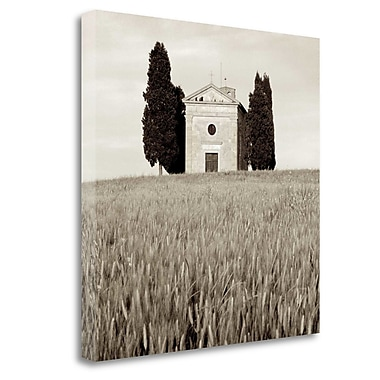 Tangletown Fine Art 'Tuscany - 9' Photographic Print on Wrapped Canvas; 25'' H x 25'' W